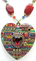 Michal Golan Multi Bright Heart Pendant