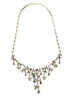 Sorrelli Aqua Bubbles Crystal Necklace~ NBW13AGAQB
