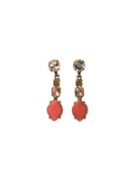 ANDALUSIA CRYSTAL EARRINGS ~ECG32AGAND