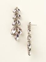 Sorrelli Satin Blush Crystal  Earrings~ ECZ2ASSBL
