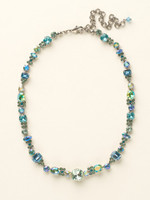 Sorrelli Sea Glass Crystal Necklace~NCD2ASSGL