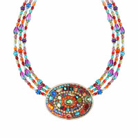 MICHAL GOLAN MULTI BRIGHT NECKLACE~N2767