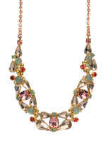 CORAL REEF CRYSTAL NECKLACE BY SORRELLI NCP4BGCOR