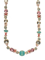 CORAL REEF CRYSTAL NECKLACE BY SORRELLI ~NCD2BGCOR