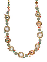 CORAL REEF CRYSTAL NECKLACE BY SORRELLI~ NCE12BGCOR