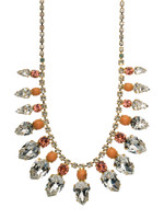 CORAL REEF CRYSTAL NECKLACE BY SORRELLI NCP2BGCOR