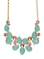 CORAL REEF CRYSTAL NECKLACE BY SORRELLI NCP3BGCOR