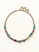 SUPER MULTI CRYSTAL NECKLACE BY SORRELLI~NCP38AGSPM