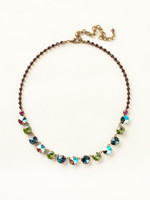 SUPER MULTI CRYSTAL NECKLACE BY SORRELLI~NCU19AGSPM