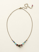**SPECIAL ORDER**Sorrelli Southwest Brights Crystal Necklace ~NCQ14AGSWB
