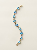 **SPECIAL ORDER**Soft Silhouettes ~ Crystal Bracelet by Sorrelli~BCY55AGUB