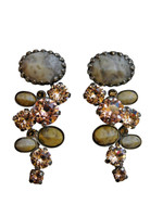 **RARE & RETIRED**Sorrelli Sand Dune Crystal Earrings~EDE42ASSND