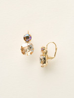 Sorrelli Sand Dune Crystal Earrings~ECL4BGDCH