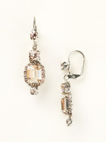 **SPECIAL ORDER**Sorrelli Satin Blush Crystal  Earrings~ EBZ47ASSBL