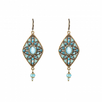 Michal Golan Atlantis Collection - Diamond Drop Earrings ~ S7837