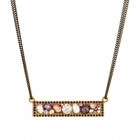Michal Golan Constellation Collection Bar Necklace ~ N3635
