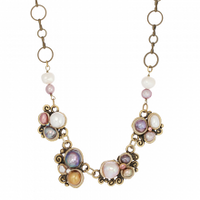 Michal Golan Constellation Collection - Multi-part Abstract Pendant on Chain Necklace ~ N3637