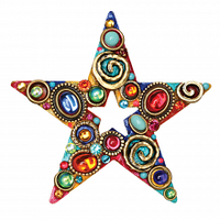 Michal Golan Confetti Collection - Star Pin ~ P696