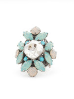 **SPECIAL ORDER**Sorrelli Aegean Sea Crystal Ring ~RCR62ASAES