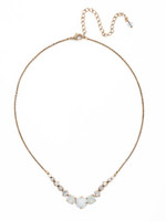 **SPECIAL ORDER**PEARL LUSTER Crystal Necklace by Sorrelli~NCQ14AGPLU