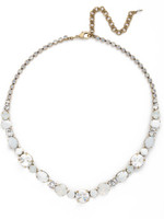 **SPECIAL ORDER**PEARL LUSTER Crystal Necklace by Sorrelli~NCP38AGPLU