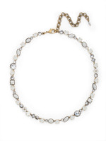 **SPECIAL ORDER**PEARL LUSTER Crystal Necklace by Sorrelli~NAQ3AGPLU