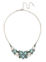 **SPECIAL ORDER**SORRELLI~PEBBLE BLUE Crystal Necklace~NDJ14ASPEB