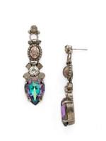 **SPECIAL ORDER**PURPLE LOTUS Crystal Earrings By Sorrelli~EDE62ASPUL