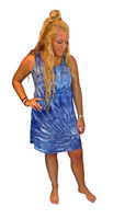 Ice Tye Dye Tank Dress by Martha~Midnight