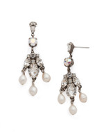 **SPECIAL ORDER**Sorrelli  White Bridal Crystal Earrings~EDP10ASWBR