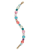 Sorrelli Happy Birthday Crystal Bracelet~BCR18AGHB