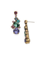 **SPECIAL ORDER** Jewel Tone Crystal Earrings by Sorrelli~ECF6AGJT