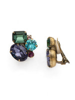 **SPECIAL ORDER** Jewel Tone Crystal Earrings by Sorrelli~EDN71CAGJT