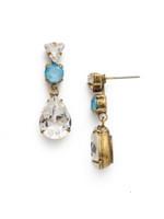 ***SPECIAL ORDER***DENIM BLUE Crystal Earring by Sorrelli~EDM49AGSMR