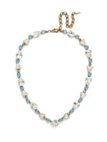 ***SPECIAL ORDER***DENIM BLUE Crystal Necklace by Sorrelli~NDM34AGSMR