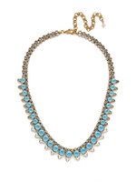 ***SPECIAL ORDER***DENIM BLUE Crystal Necklace by Sorrelli~NDM47AGSMR