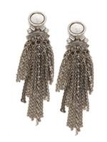 Sorrelli White Howlite Earrings~EDC13ASWH