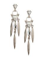 Sorrelli White Howlite Earrings~EDM74ASWH
