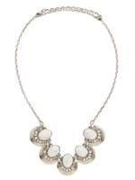 Sorrelli White Howlite Necklace~NDM73ASWH