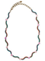 Sorrelli Lollipop Crystal Necklace~ NBZ13AGLP