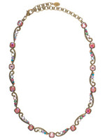 Sorrelli Lollipop Crystal Necklace~ NBZ10AGLP
