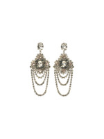 SORRELLI SNOW BUNNY CRYSTAL EARRINGS~EBP49ASSNB