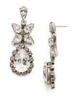 SORRELLI SNOW BUNNY CRYSTAL EARRINGS~ECP21ASSNB