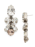 SORRELLI SNOW BUNNY CRYSTAL EARRINGS~ECR1ASSNB