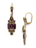 Sorrelli Volcano Crystal Earrings~ECW48AGVO