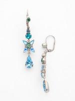 **SPECIAL ORDER**Ocean Crystal Earrings~ ECR30ASOC