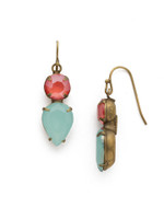 **SPECIAL ORDER**Sorrelli Botanical Brights Crystal Earrings~ EDH62AGBOT