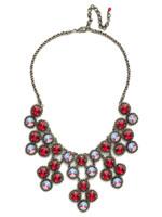 Red Ruby Crystal Necklace~NCN2ASRRU