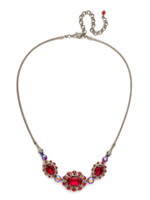 Red Ruby Crystal Necklace~ NCK11ASRRU