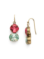 *SPECIAL ORDER** Sorrelli Happy Birthday Crystal Earrings ~ EDH63AGHB